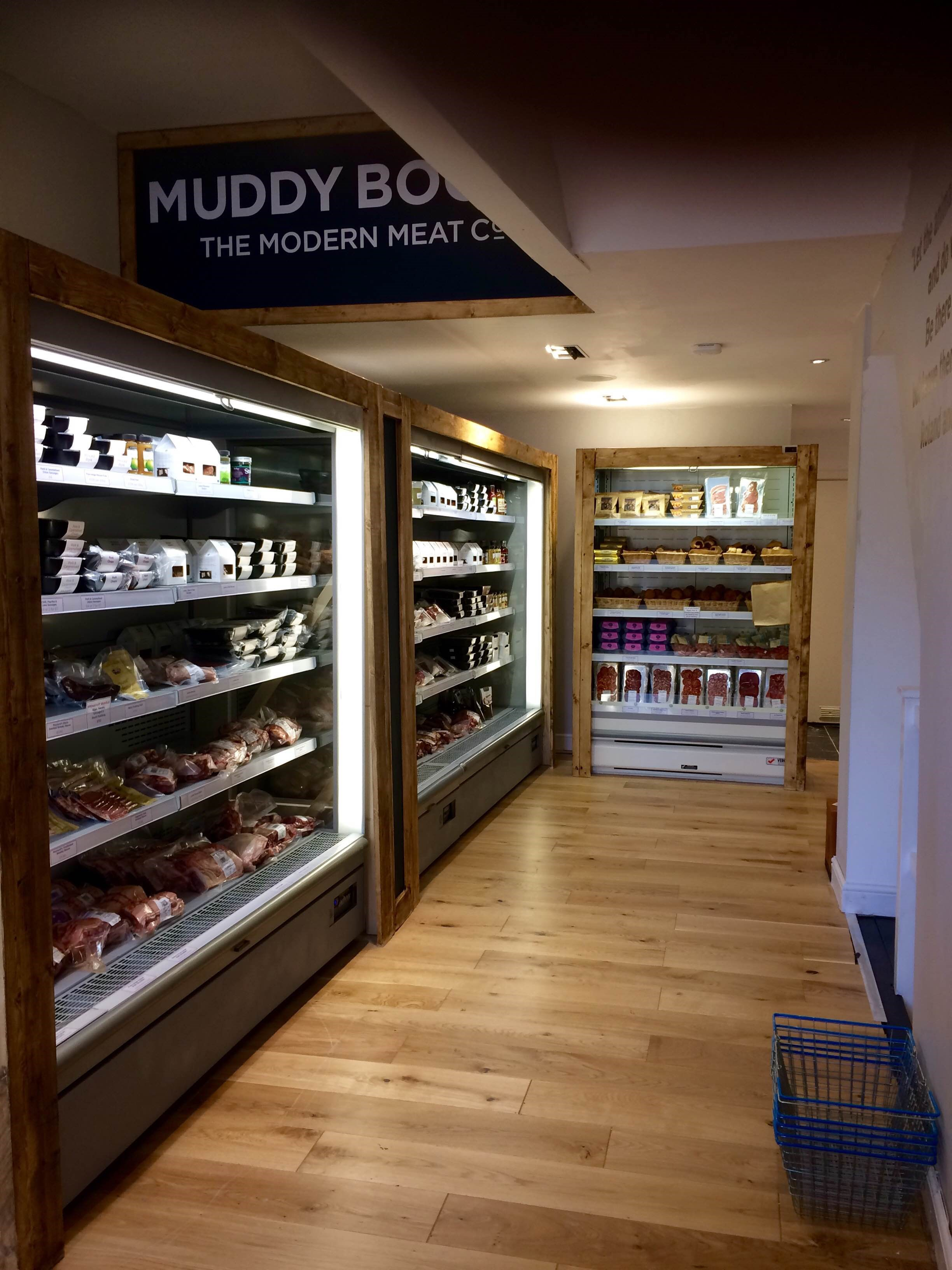 Inside one of the Muddy Boots stores